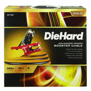 DieHard  16 ft. 6 Ga. 225 amps Advanced Power Booster Cable