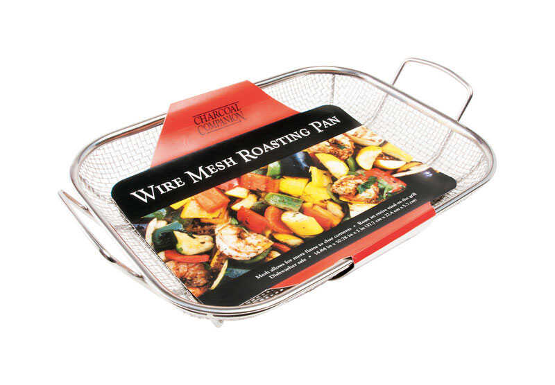Charcoal Companion  Roasting Pan  Stainless Steel