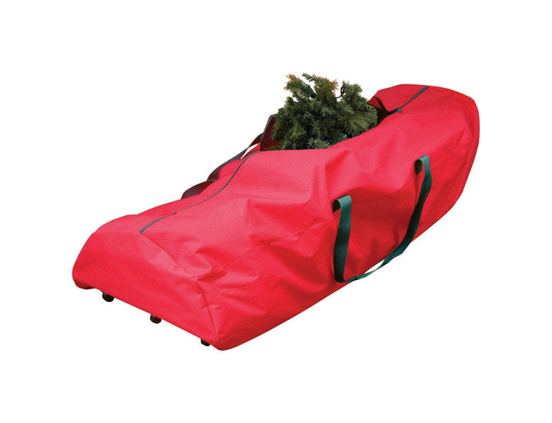 This Artificial Tree Rolling Storage Bag W/Pole Guard makes it easy to store Trees up to 9 Ft