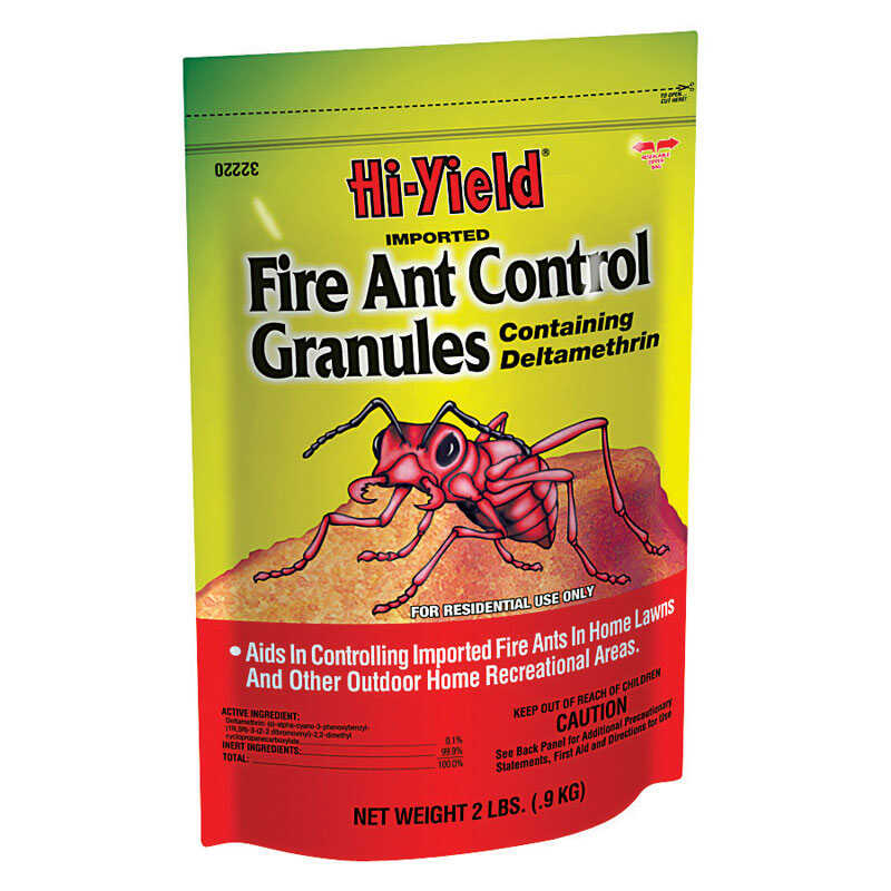 Hi-Yield  Imported Fire Ant Control Granules  Insect Killer  2 lb.