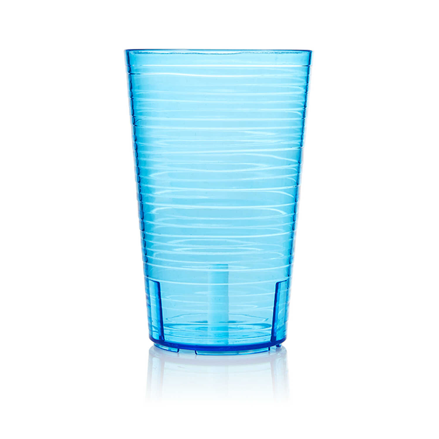 Arrow Home Products  20 oz. Blue  Cup  Plastic