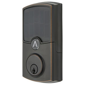 Hampton  ARRAY Barrington  Tuscan Bronze  Zinc  Wifi Deadbolt