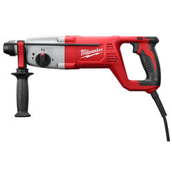 Milwaukee  1 in. SDS-Plus  Corded  Rotary Hammer Drill  Kit  8 amps 2.1 ft./lbs. 5625 bpm