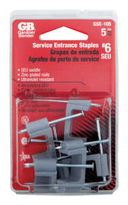 GB  3/4 in. W Plastic  Service Entrance Cable Strap  5 pk Insulated