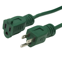 Coleman Cable  Woods  Outdoor  20 ft. L Green  Extension Cord  16/3 SJTW