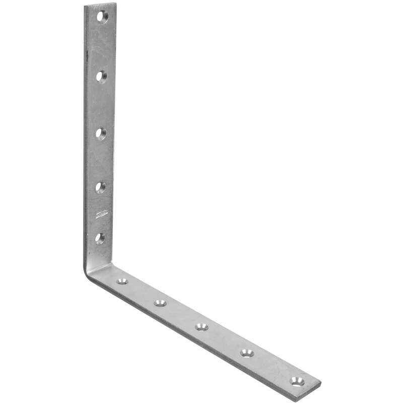 National Hardware 10 in. H x 1.25 in. W x 0.25 in. D Zinc-Plated Steel Inside Corner Brace