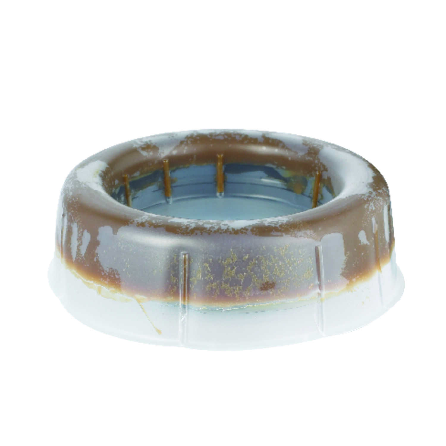Harvey's  3 ID  4 OD  Polyethylene  Wax Ring with Flange