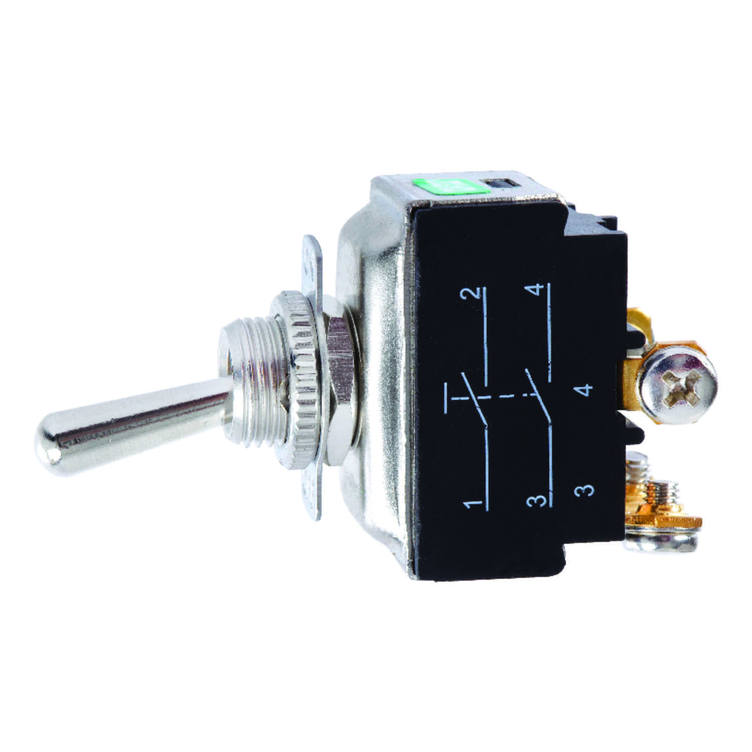 Jandorf Double Pole Power Tool Switch Silver 1 20 Amps Toggle Ace Light Switches