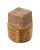 JMF  1-1/4 in. MPT   Male  Brass  Plug