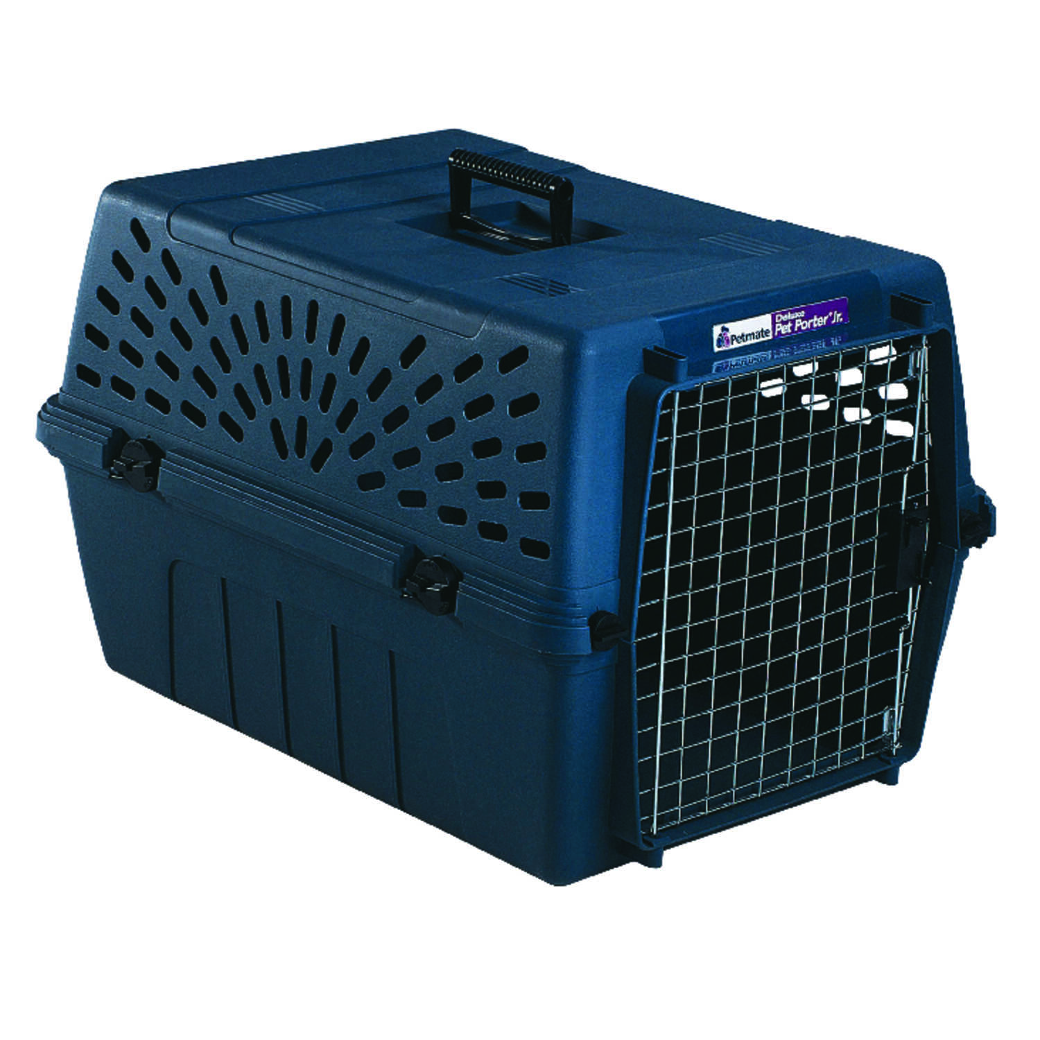 Petmate  Plastic  Pet Kennel  14-13/16 in. H Brown