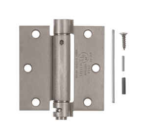 Ace  3.5 in. L Satin Nickel  Nickel  Door Hinge  1 pk