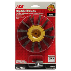 Ace  5 in. Dia. x 1/4 in.   Aluminum Oxide  Flap Wheel  120 Grit 1 pk
