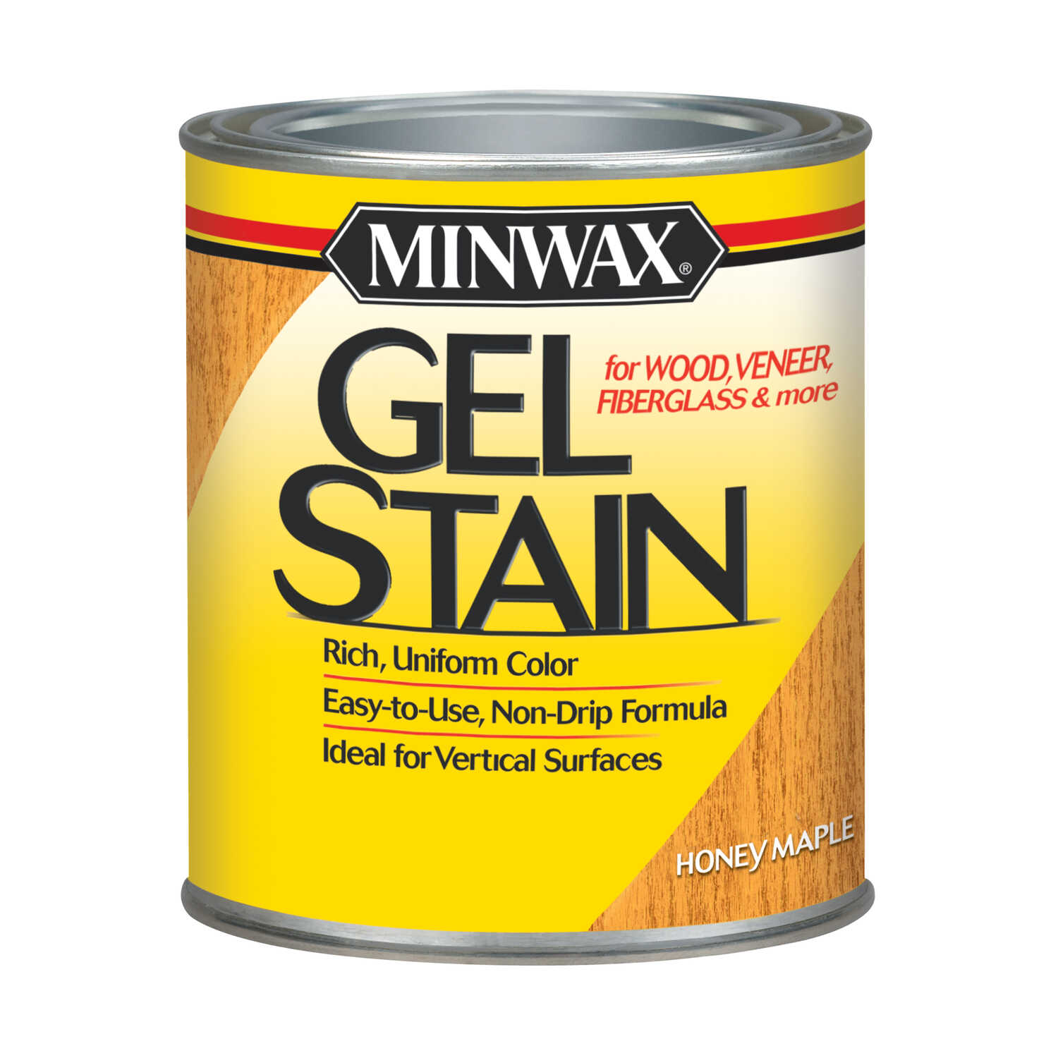 Minwax  Transparent  Low Luster  Honey Maple  Oil-Based  Gel Stain  1 qt.