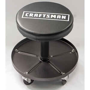 Craftsman  16-1/4 in. H x 16 in. W Swivel Stool