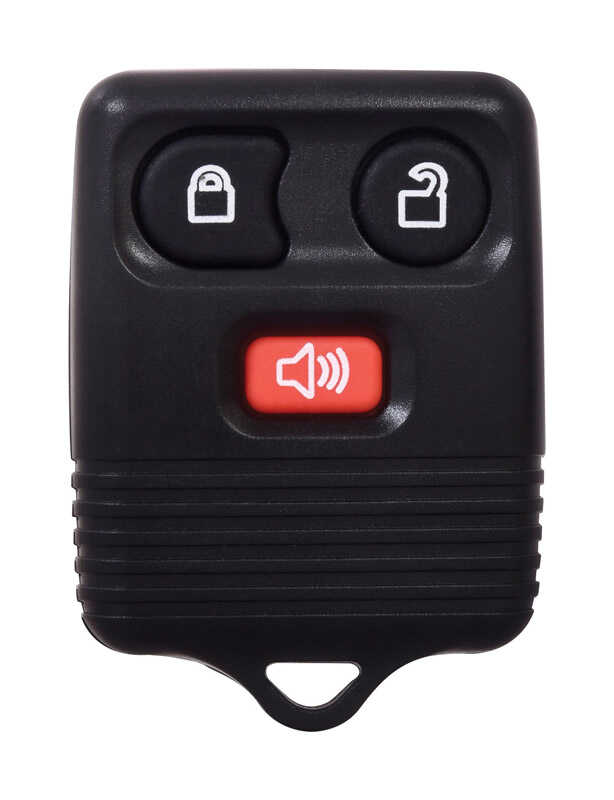 Duracell  Self Programmable Remote  Automotive  Replacement Key  Ford CWTWB1U331 3-Button Remote L