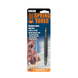 Spring Tools 1 pc. Double-Ended Nail Set 1/32 and 2/32 in.