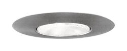Halo  Satin Nickel  6 in. W Recessed Open Trim Light
