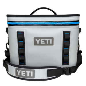 YETI  Hopper  Cooler  18 cans Gray  1 pk
