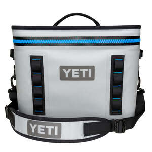 YETI  Hopper  Cooler  18  Gray  1 pk