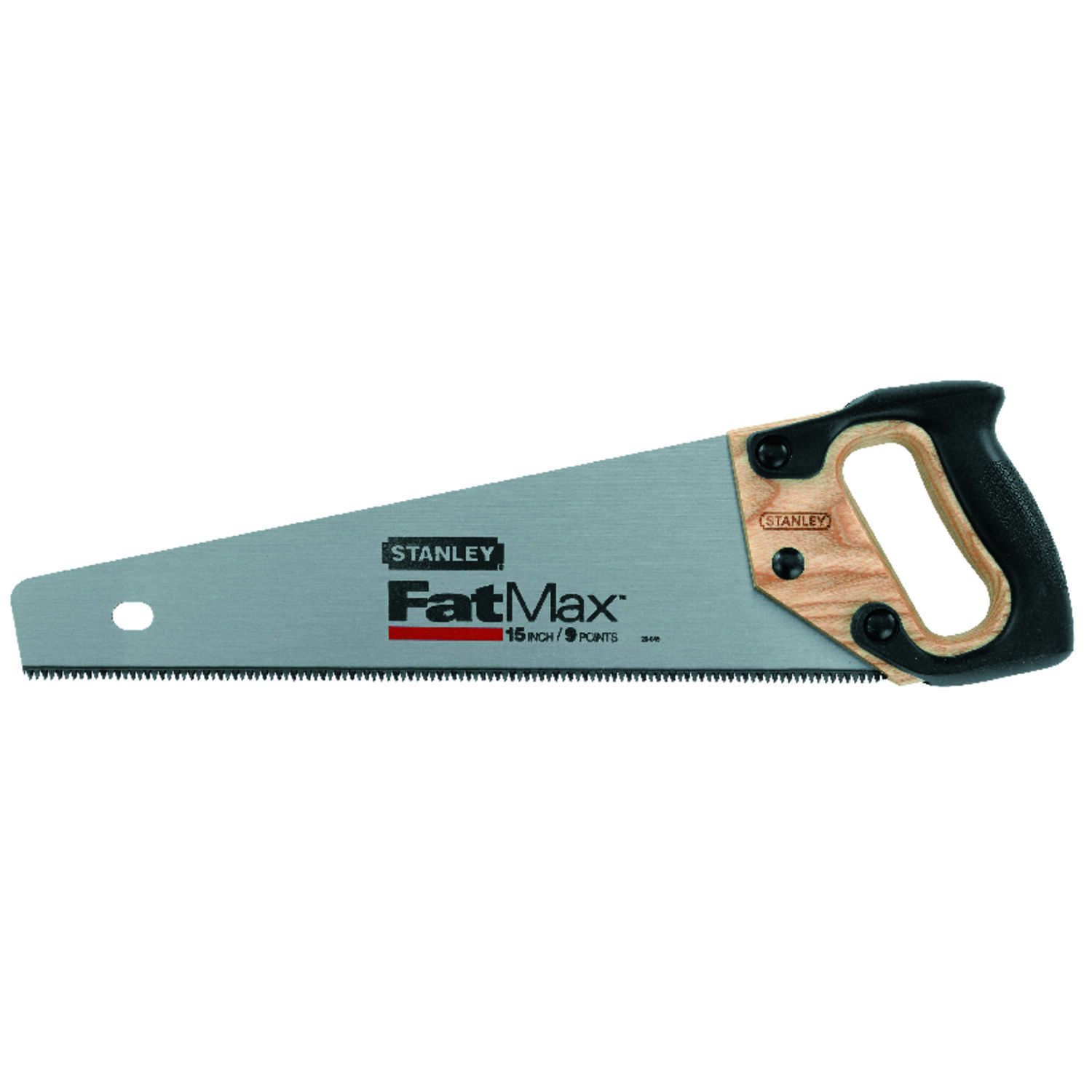 Stanley  FatMax  15 in. Carbon Steel  Hand Saw  8 TPI
