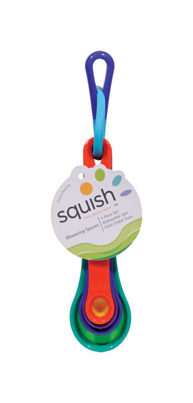 Squish  Polypropylene  Multicolored  Measuring Set