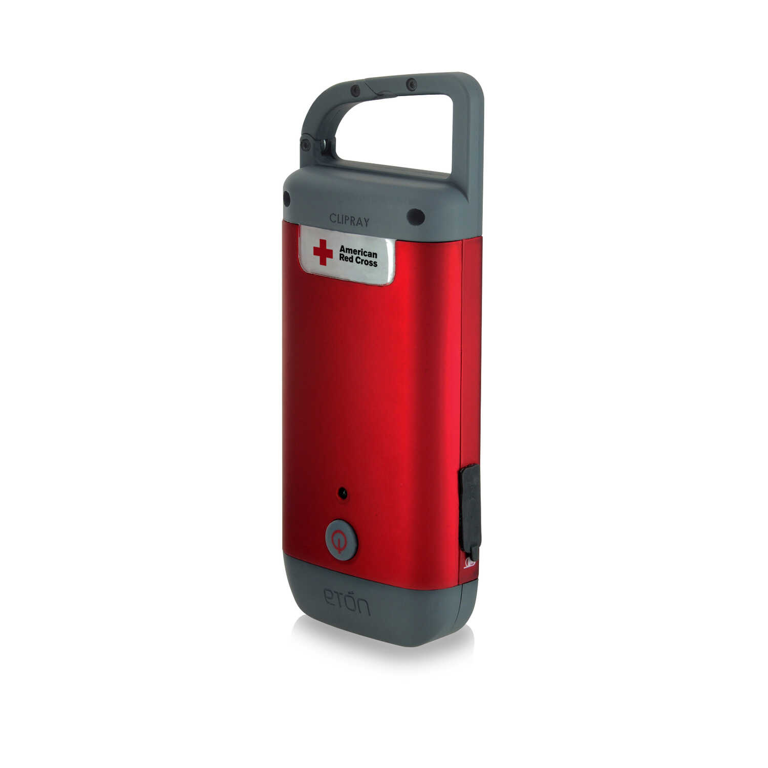 American Red Cross  Eton  Red  LED  Hand Crank Flashlight