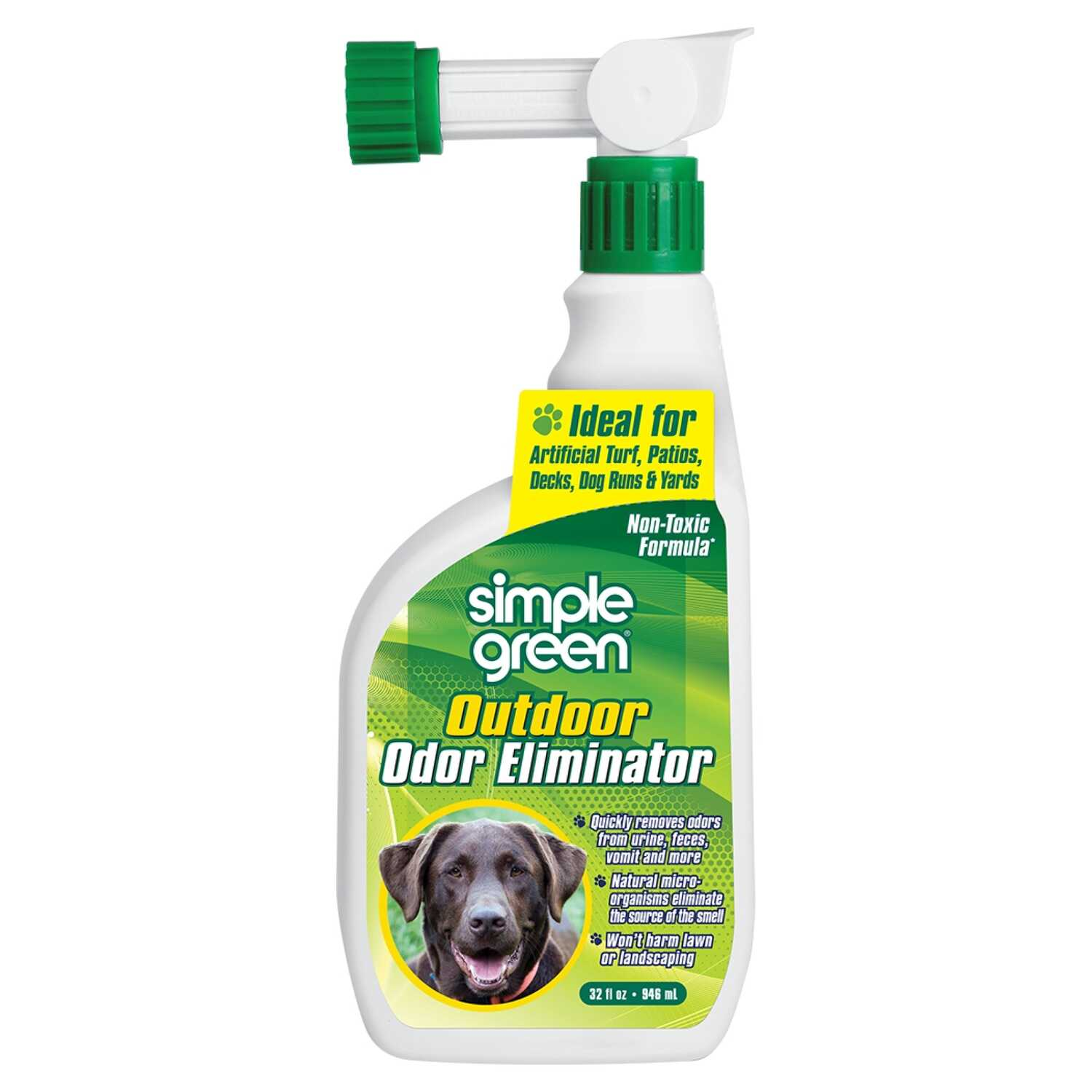Simple Green  Fresh Scent Pet Odor Eliminator  32 oz. Liquid
