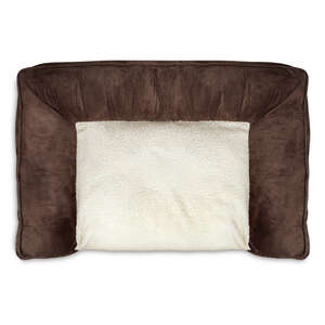 Animal Planet  Brown  Polyester  27 in. L x 8 in. H x 40 in. W Dog Bed  Rectangular