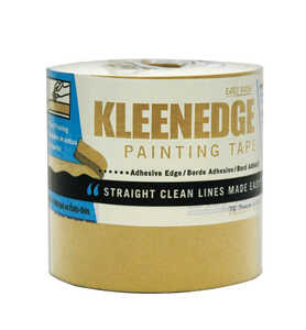 Kleenedge  3 in. W x 180 ft. L Brown  Regular Strength  Painter's Tape  1 pk