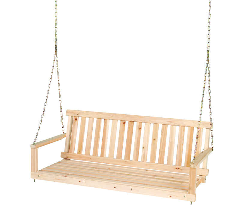 Jack Post  Jennings  Jennings  Wood  2 person  Porch Swing  21-1/2 in. 48-3/4 in. 17-3/4 in. 400 lb.