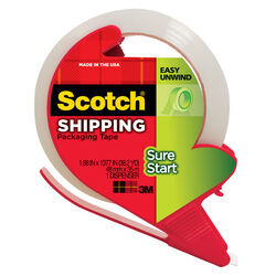 Scotch 1.88 in. W x 38.2 L Heavy Duty Packaging Tape Clear
