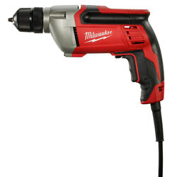 Milwaukee 3/8 in. Keyless Corded Drill 8 amps 2800 rpm