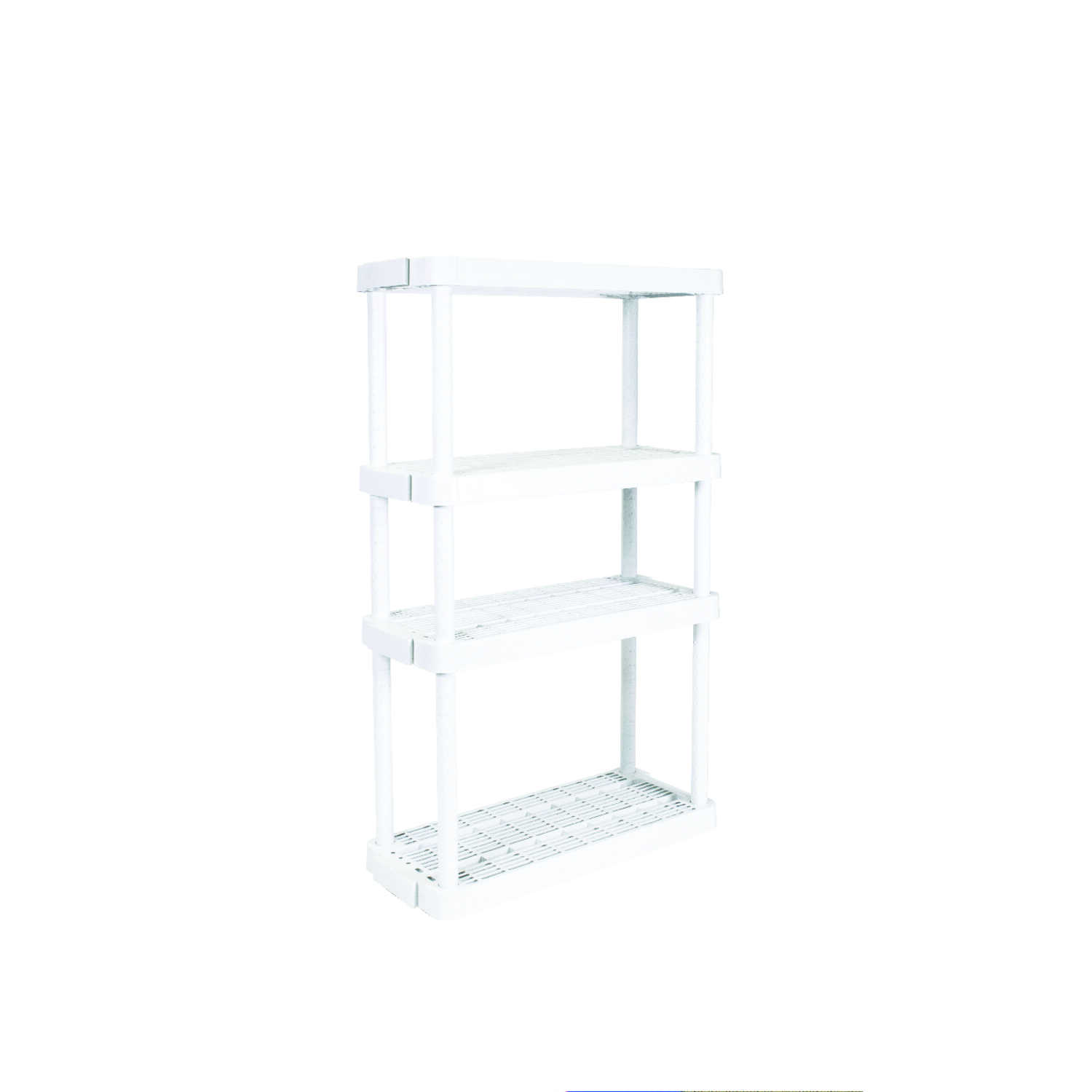 Gracious Living  32 in. W x 54-1/2 in. H x 14 in. D Shelving Unit  Resin