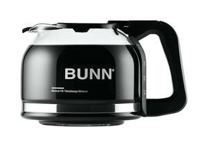 BUNN  Carafe  Clear  Glass