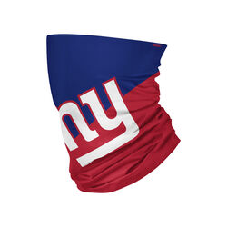 Foco  New York Giants  Gaiter Scarf  Face Mask  1 pk