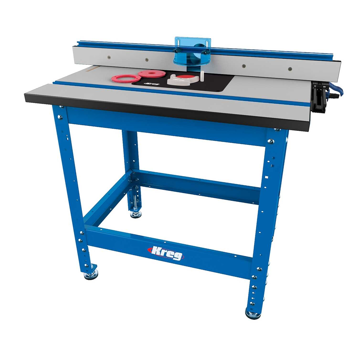 Kreg Tool  36 in. L x 32.50 in. W Steel  Precision  Router Table System  Blue  1 pc.