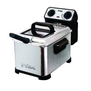 T-Fal  Black/Silver  3.49 qt. Deep Fryer