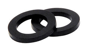 BrassCraft  23/32 in. Dia. Rubber  Aerator Washer  2 pk