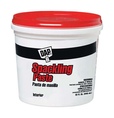DAP  Bondex  Ready to Use White  Spackling Paste  1 qt.