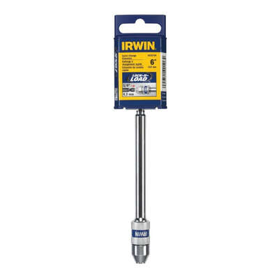 Irwin 6 in. Steel Extension Drill Bit 1/4 in. Quick-Change Hex Shank 1 pc.