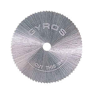 Gyros Tools  3/4 in. Dia. x 1/8 in.  Circular Power Saw Blades  Steel  Circular Saw Blade  60 teeth