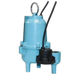 Little Giant  4/10 hp Cast Iron  Vertical Float Switch  Submersible Sewage Pump