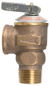 Cash Acme  3/4 in. Pressure Only Relief Valve  Pressure Relief Valve