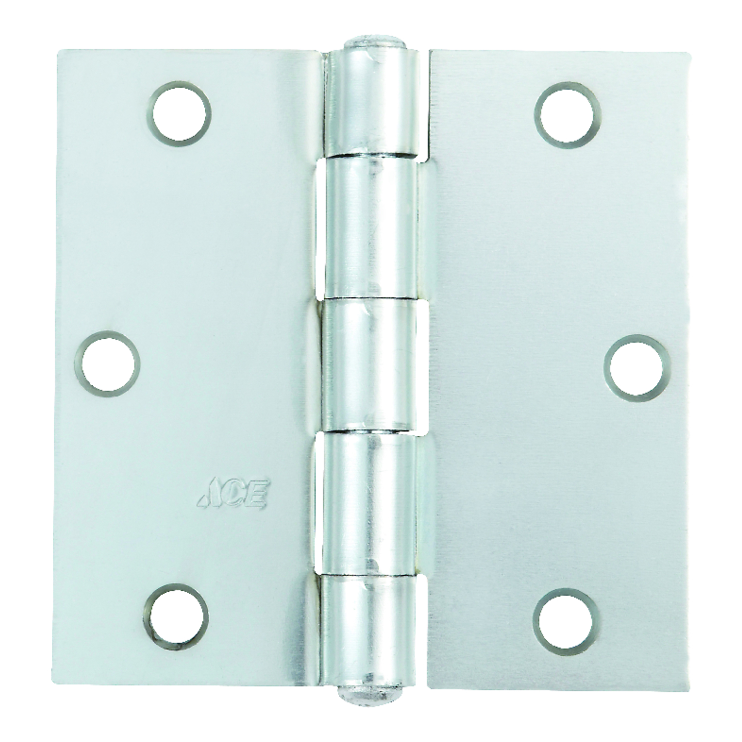 Ace  3-1/2 in. L Zinc-Plated  Steel  Broad Hinge  1 pk