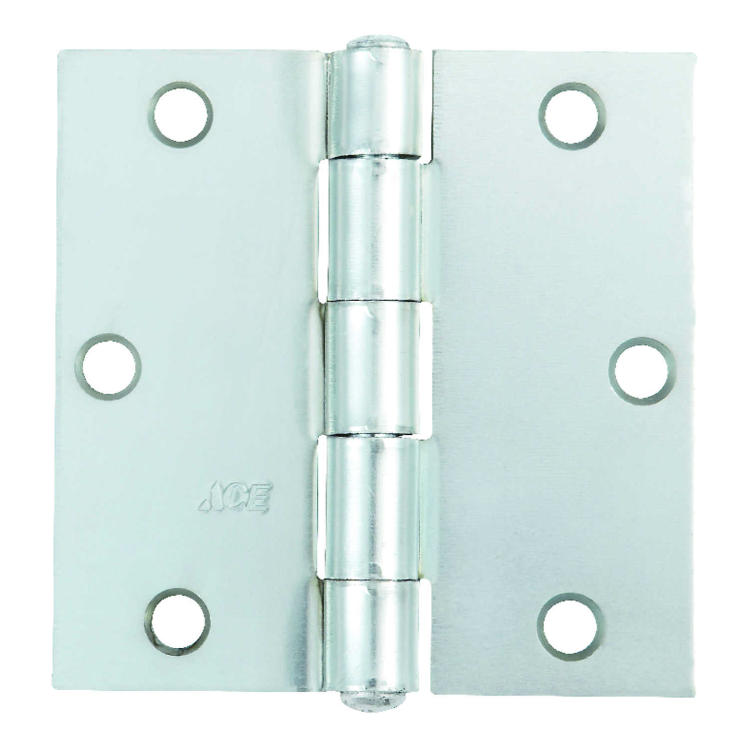 Ace  3-1/2 in. L Zinc-Plated  Broad Hinge  1 pk