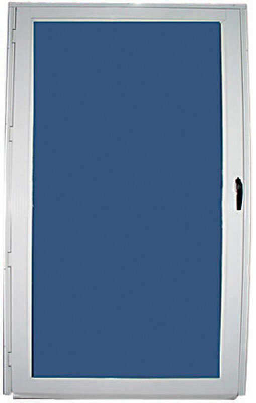 Croft 80 H X 36 W Full View Reversible Storm Door White