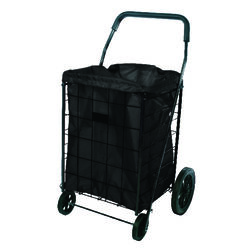 Apex  24 in. H x 18 in. W x 15 in. L Black  Collapsible Shopping Cart Liner