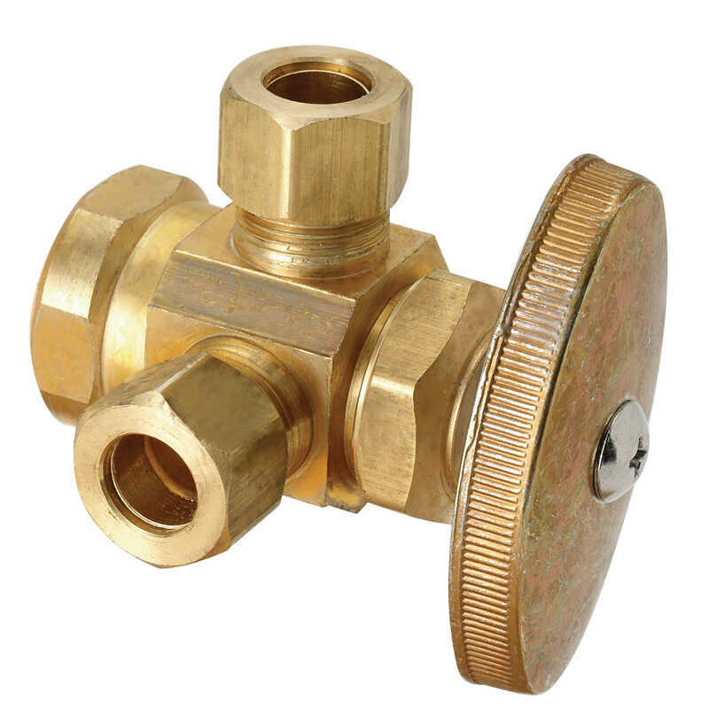 BrassCraft  Brass  Outlet Valve