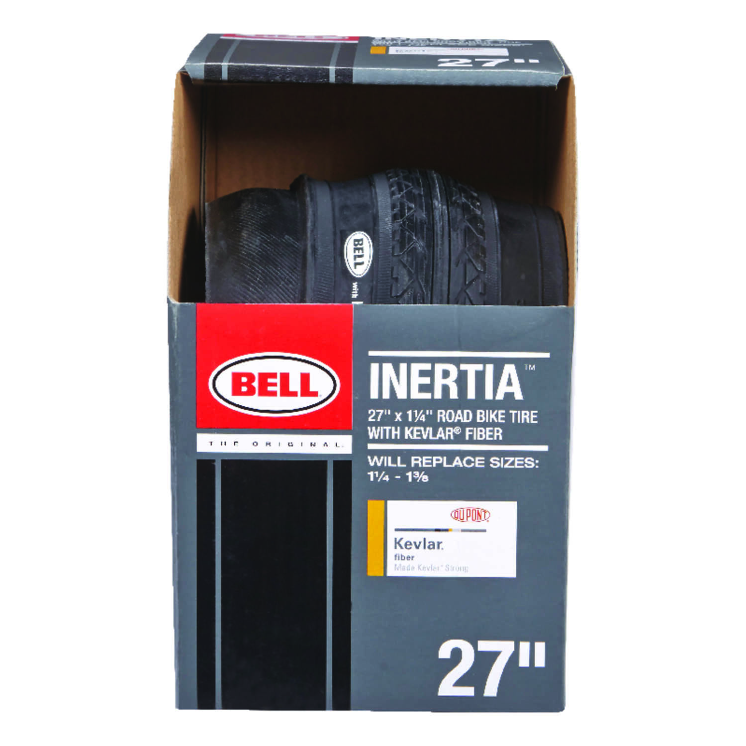 Bell Sports  Inertia  Rubber  Bicycle Tire  1 pk