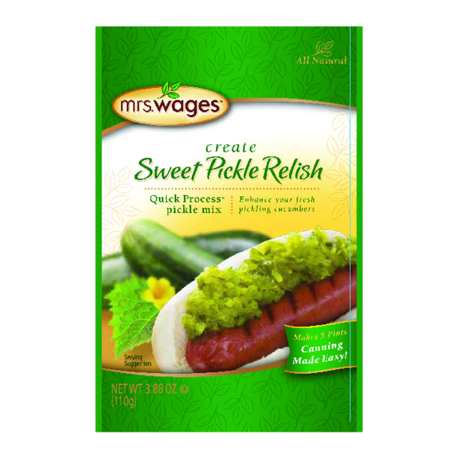 Mrs. Wages  Pickle Relish Mix  3.88 oz. 1 pk